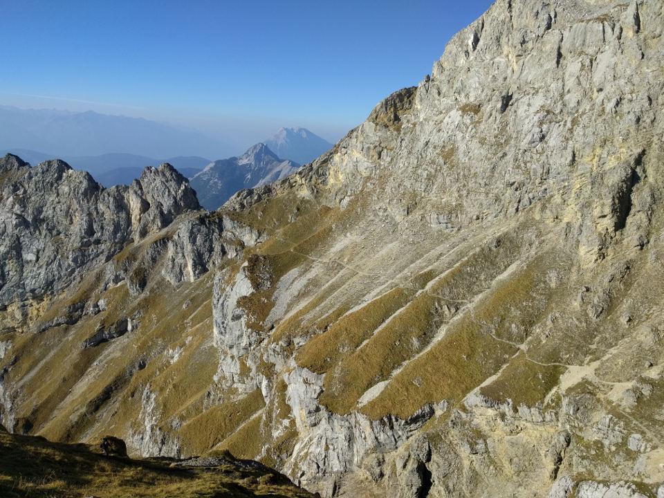 Klettersteig Mittenwald : Mittenwalder klettersteig bms bergschule