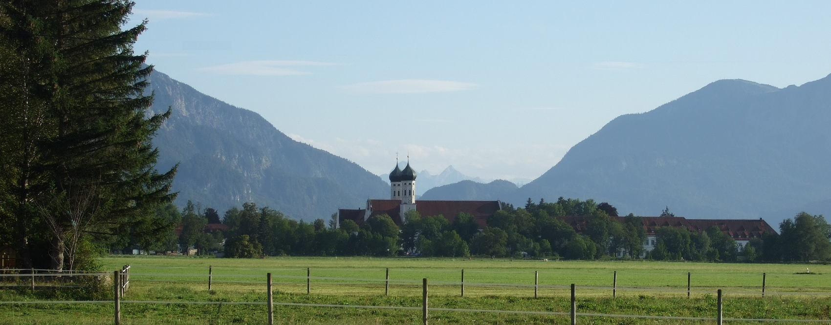 Fahrradtour Benediktbeuern - Grossweil