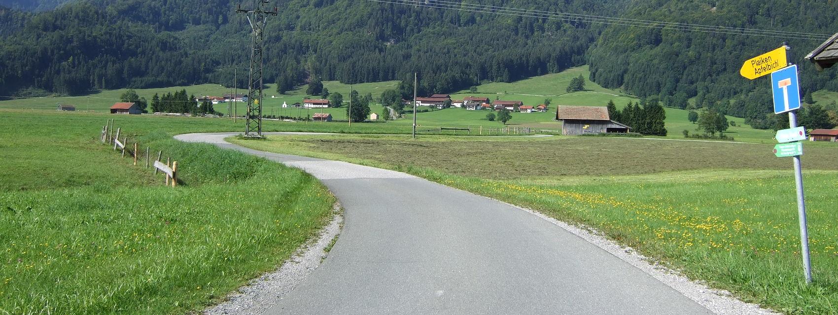 Fahrradtour südliches Murnau