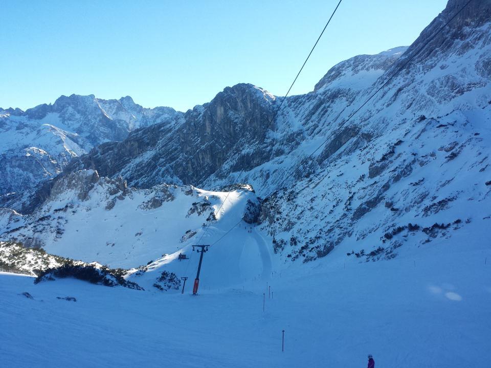 Skigebiet Garmisch Partenkirchen Classic