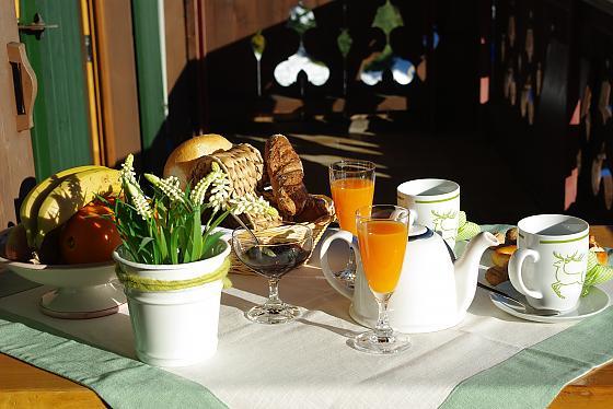 Ferienwohnungen Saulgrub - Frühstück