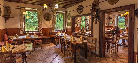 Ferienwohnungen im Jägerhaus - Gastronomie