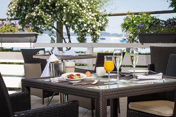 Seehotel Leoni - Frühstück