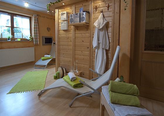 Gästehaus Alpenglühn - Wellness
