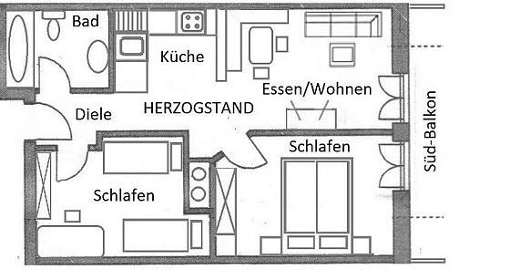 """Ferienwohnung """"Herzogstand"""""""