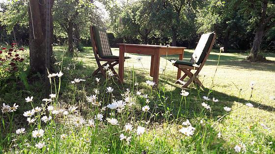 Ferienwohnung Annemie auf Hof am See - Wellness