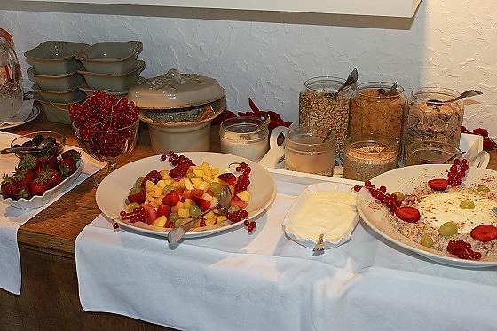 Gästehaus Alpvital - Frühstück