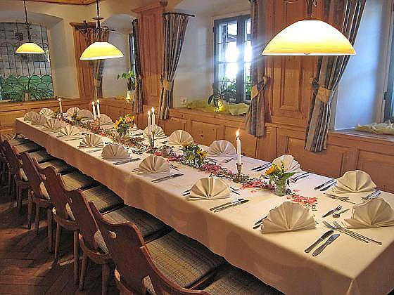 Gasthof Hotel zur Post Kochel am See - Gastronomie