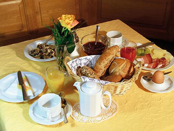 Hotel garni Sterff - Frühstück