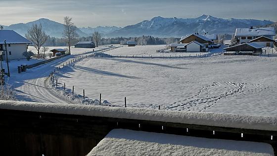 Ferienwohnung Marias Karwendelblick - Bilder