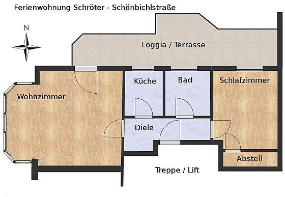 Ferienwohnung Schönbichlstraße