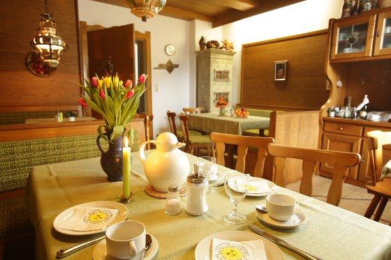 Gästehaus Ethiko - Frühstück