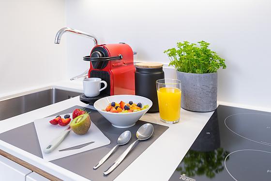 Apartments wohnrevier - Frühstück