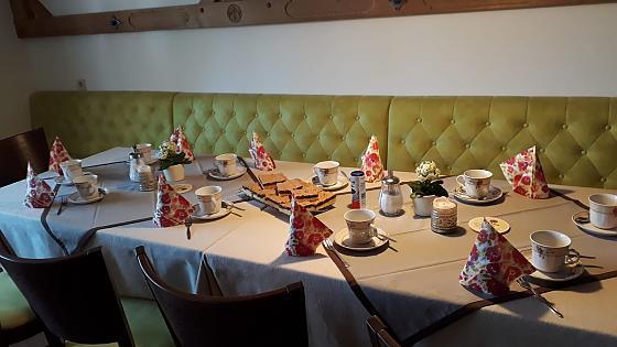 Gästehaus Bergfrieden - Frühstück