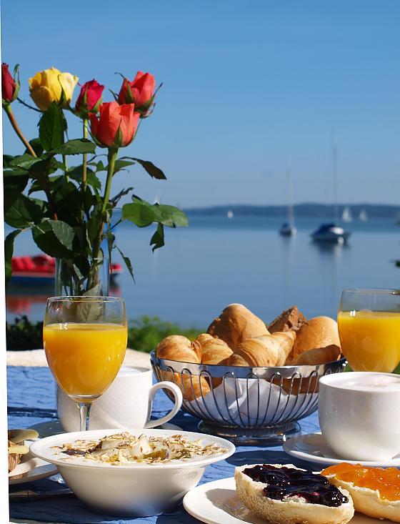 Strandhotel Dießen - Frühstück