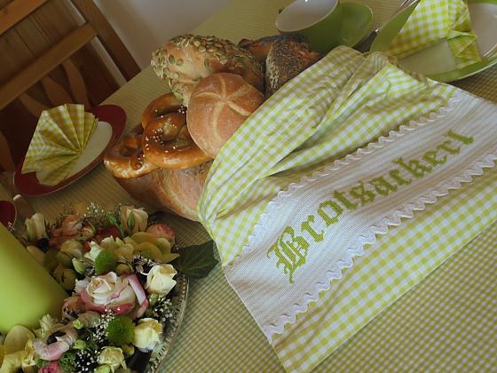 Ferienwohnungen Am Georgenhof - Frühstück