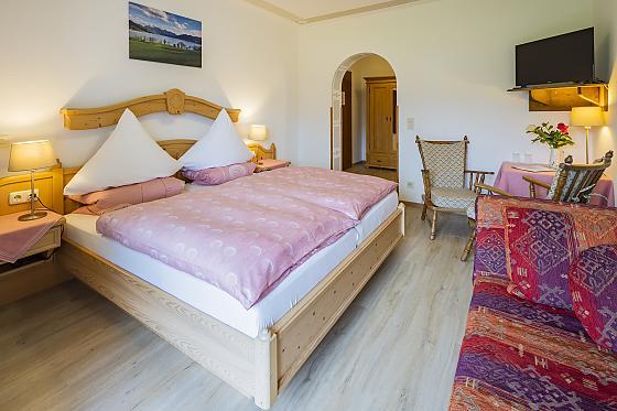 Doppelzimmer mit Seeblick