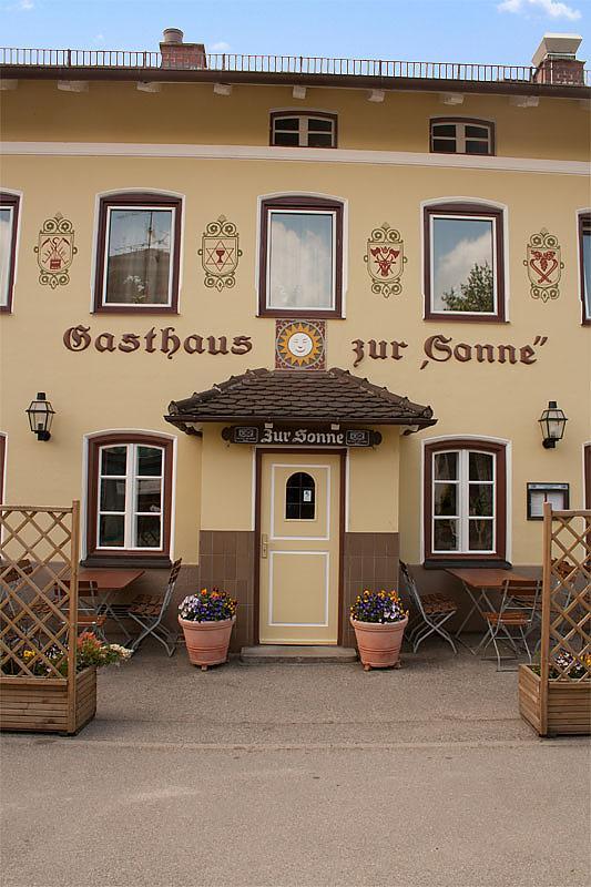 Gasthof zur Sonne - Gastronomie