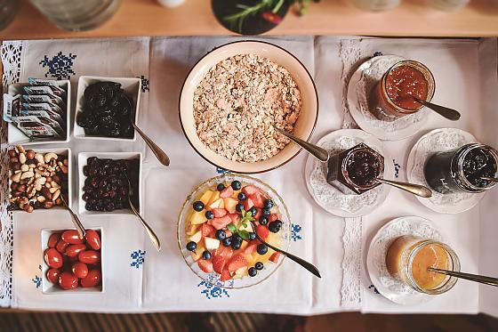 Moarhof Bad Wiessee - Frühstück
