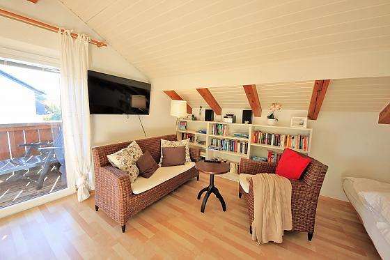 Apartment Perle mit Balkon
