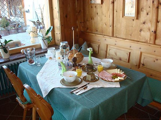 Gästehaus Goldhofer - Frühstück
