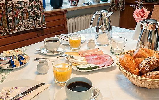Gästehaus Hoepfl - Frühstück