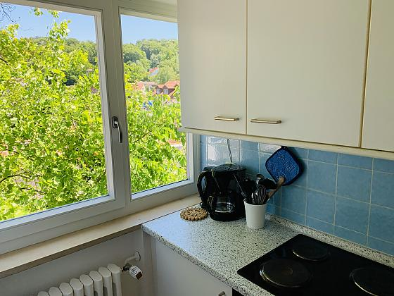 Ferienwohnung mit Balkon für max. 3