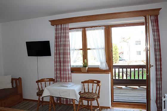 Doppelzimmer Rosenblick mit Balkon