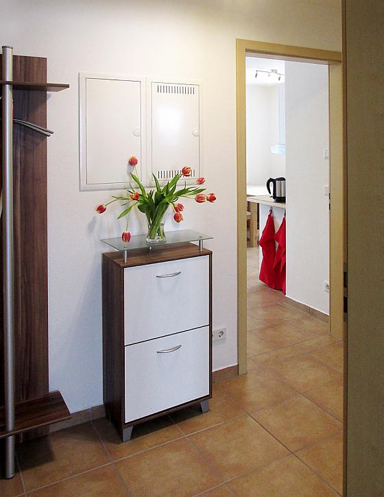 1,5-Zimmer im Obergeschoss mit Balk