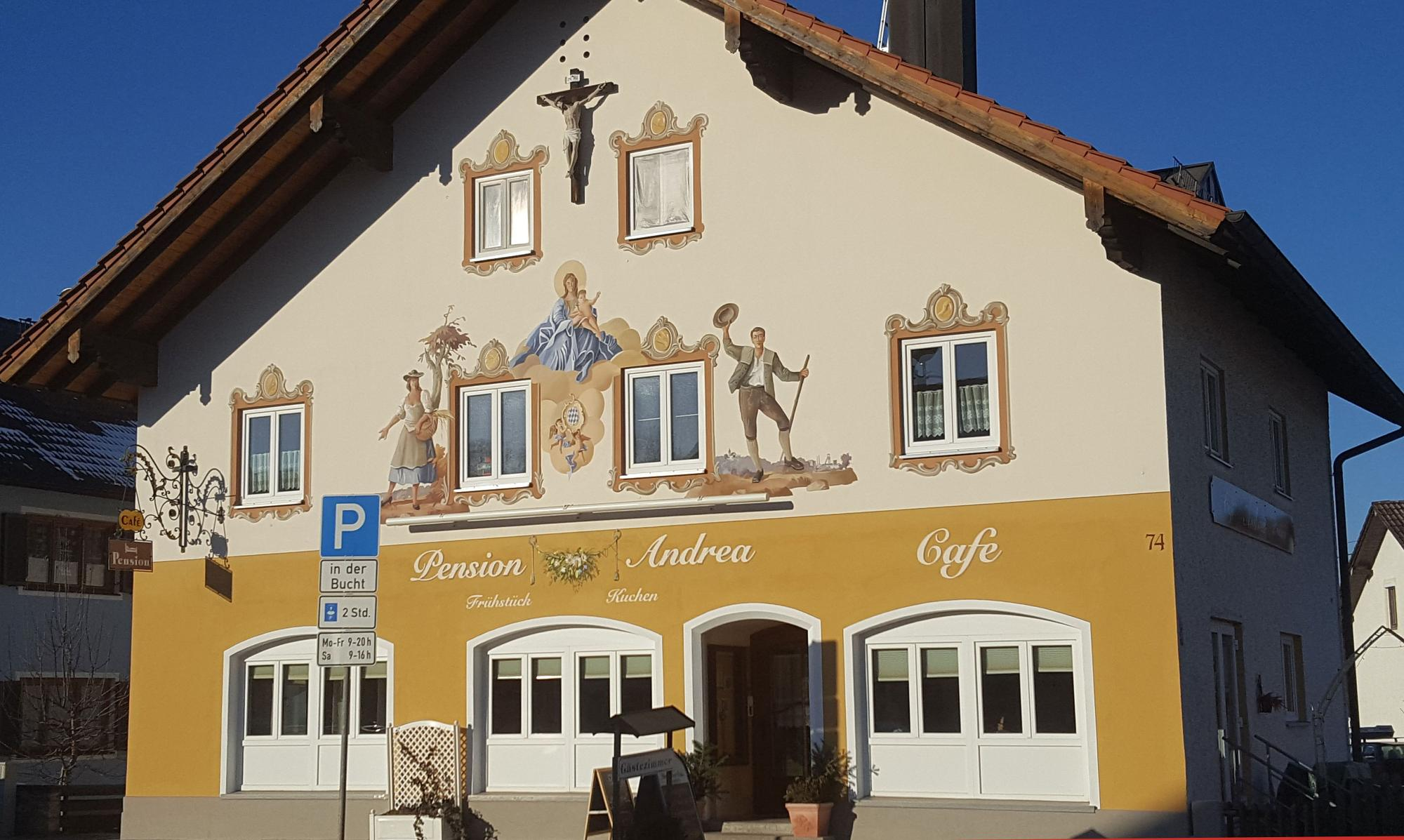 Pension und Cafe Andrea in Peißenberg
