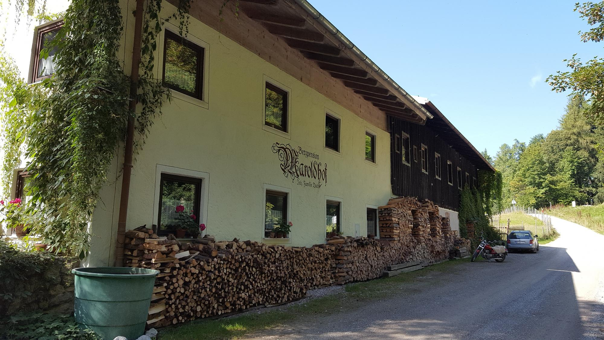 Berg-Pension Maroldhof in Warngau