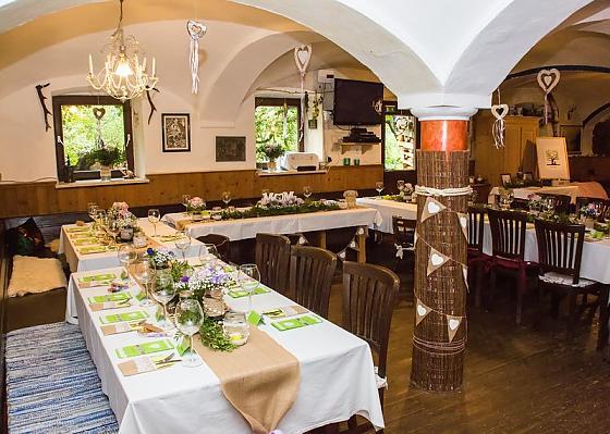 Berg-Pension Maroldhof - Gastronomie