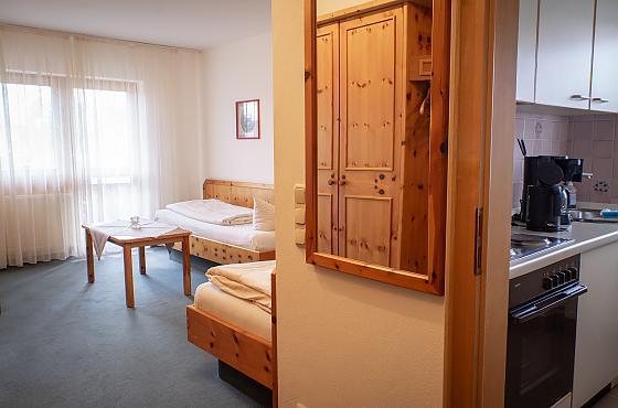 Ein-Zimmer-Appartement