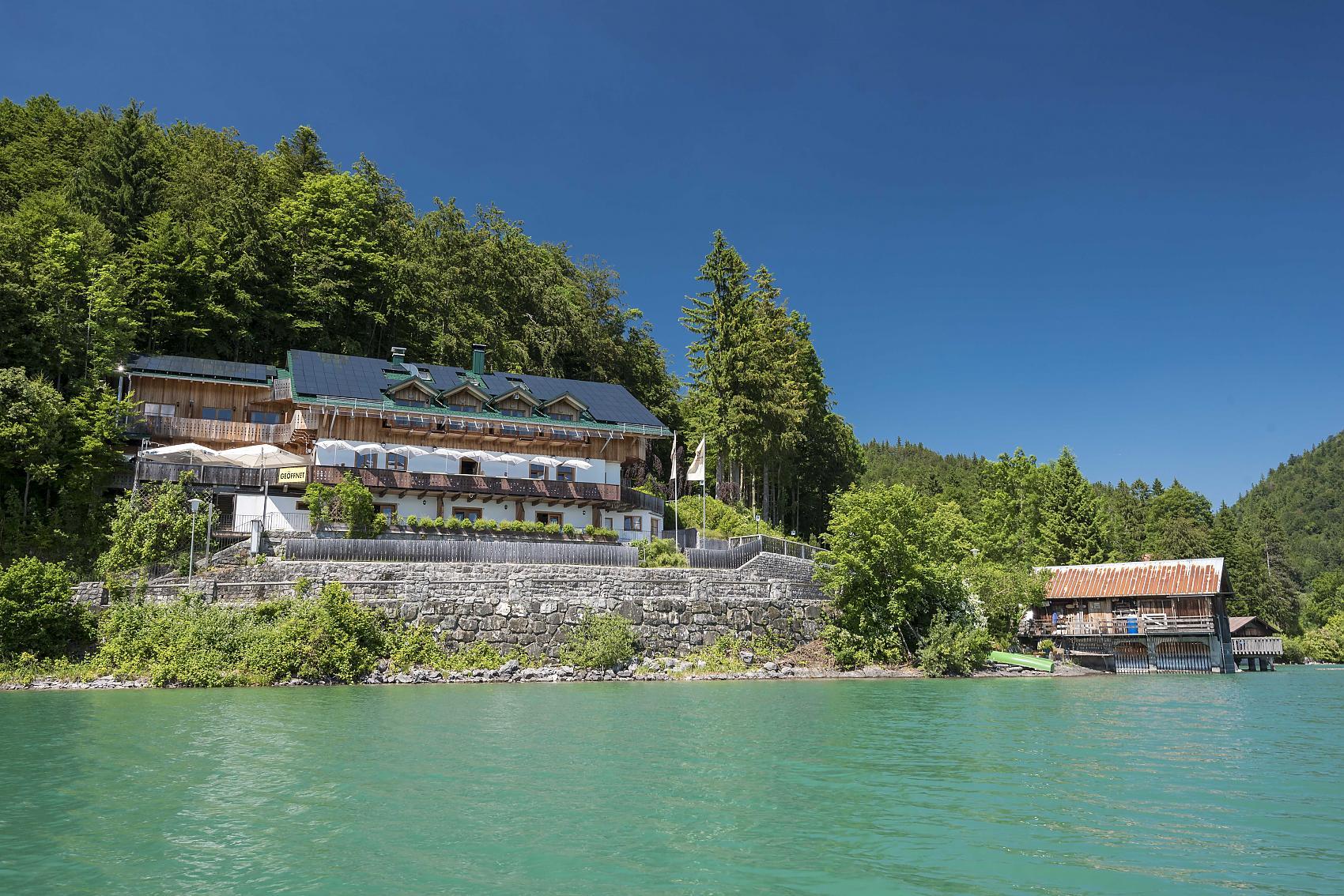 Panorama See Hotel Restaurant Karwendelblick Urfeld Am Walchensee