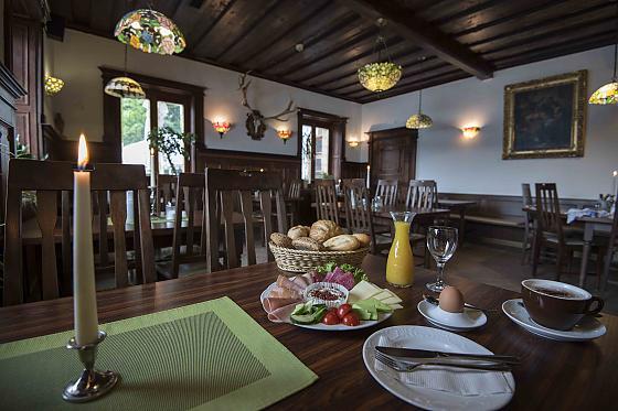 Panorama See-Hotel Restaurant Karwendelblick - Frühstück