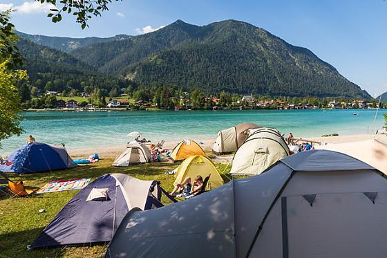 Campingplatz Walchensee Walchensee