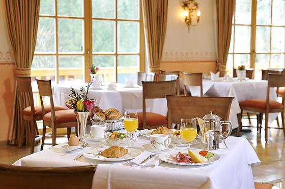 Romantik Hotel Waxenstein - Frühstück