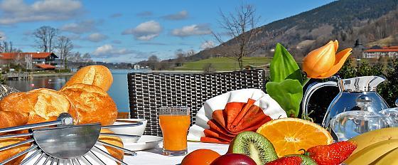 Seehotel Waltershof - Frühstück