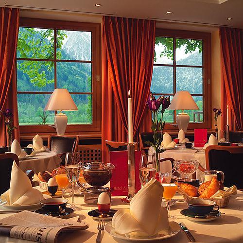 Der Alpenhof Bayrischzell - Frühstück