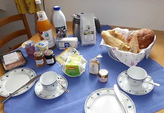 Ferienwohnung Bad Kohlgrub - Frühstück