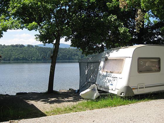 Der Campingplatz!