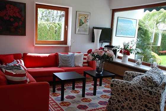 Das Esszimmer / Wohnzimmer
