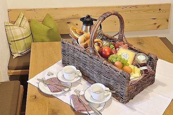 Ferienwohnungen Ignazhof - Frühstück