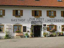 Gasthof zur Post Wildsteig in Wildsteig