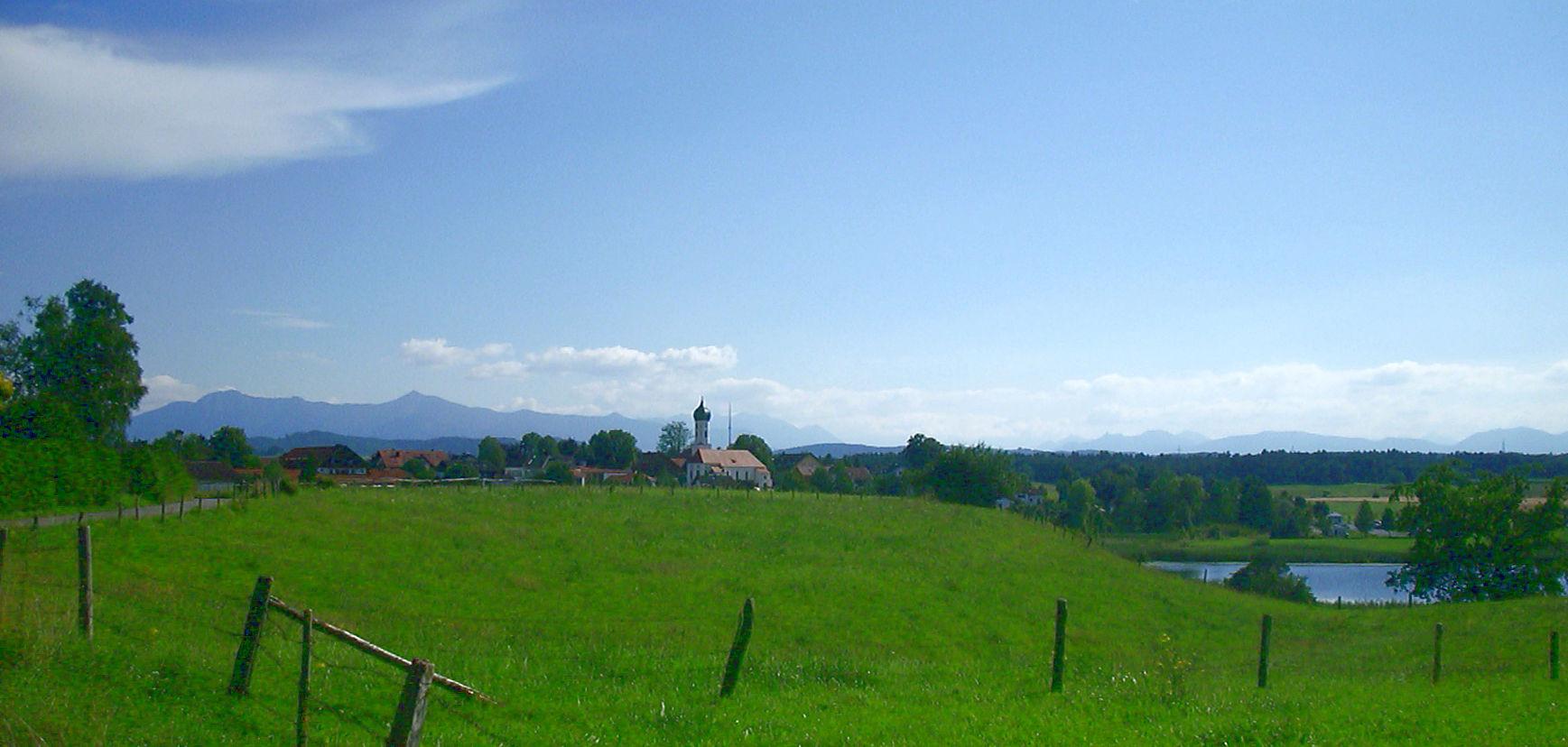Radtour Osterseen